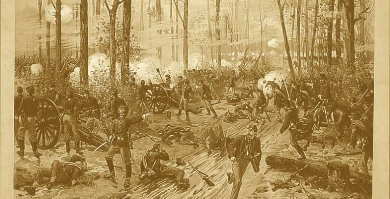 Civil War Battle Sceme