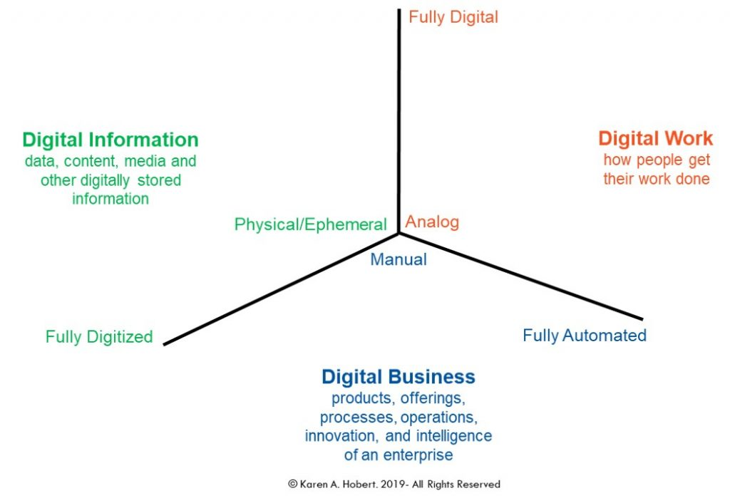 3D Model of the Digital Enterprise