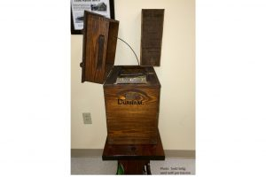 1892 wooden ballot box